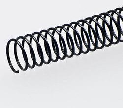 PVC Spiral Binding 8mm Black, 316mm(A4)