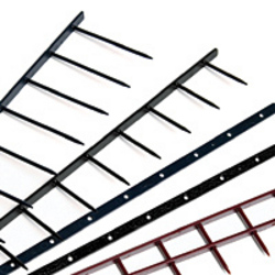 Velo-Surebind Strips - S2 25mm White10 Prong