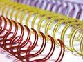 Binding Wire 9.5mm Matt Silver 3:1 Pitch