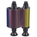 3011 Evolis Colour 1 side Ribbon YMCKO to suit Tattoo - Pebble