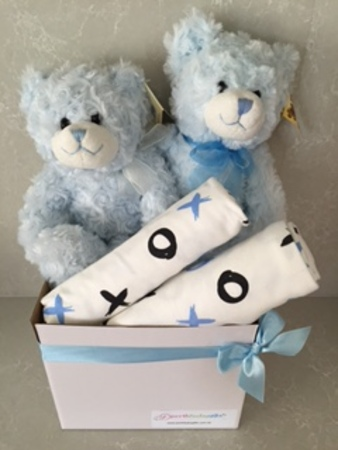 Twin Blue Bears
