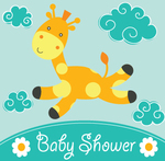 Baby Shower Giraffe