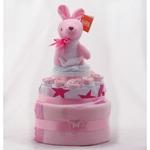Nappy Cake Pink Kangaroo