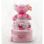 Nappy Cake Pink Koala