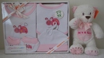 Organic Cotton Clothing Set ~ Pink Ladybug