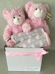Twin Pink Bears