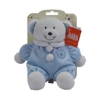 Baby Rattle Blue Bear