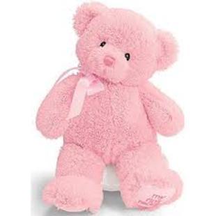 Medium Pink Bear