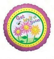 Get well sunny flowers