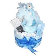 Bluey nappy cake