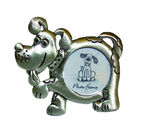 DP10312B Pewter look dog picture frame
