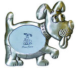 P67722D Pewter look dog picture frame