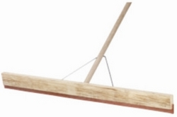 Concrete Floor Squeegee 914mm  With Wooden Handle and Bracket