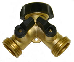 Brass Y for Proportioning System