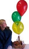 Three Latex Balloons