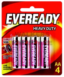 BATTERY H/DUTY RED AAX4