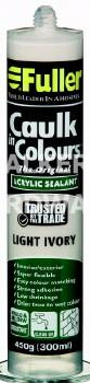 CAULK IN COLOURS 420G LIGHT IVORY