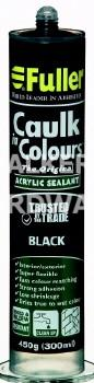 CAULK IN COLOURS 420G BLACK