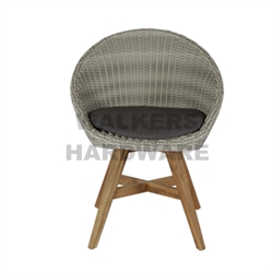 CHAIR WICKER TIMBER TRINIDAD