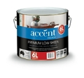 ACCENT INT LOW SHEEN ACRYLIC WHITE 6L