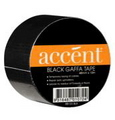 TAPE ACCENT GAFFA DUCT BLACK 48MM X 10M