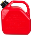 JERRY CAN RED PLASTIC 5L WITH NOZZLE