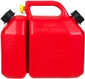 JERRY CAN FUEL/OIL COMBO RED 6L