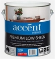 ACCENT LOW SHEEN INT BRIGHT RED 4L