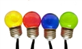 LIGHT SOLAR MULTI COLOURED 20 LED RETRO
