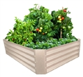 GARDEN BED RAISED 120L X 90W X 30H CM MERINO