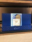 A medium box of premium share chocolates